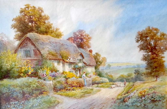 """Alham, Somerset"" by Thomas Noel Smith."