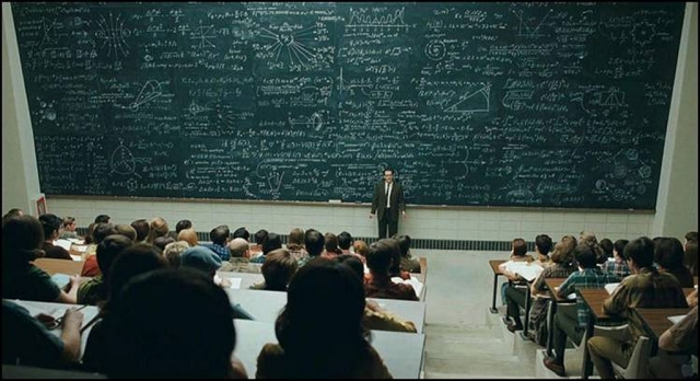 """And thus, dear students, we have arrived at the formula for understanding women"