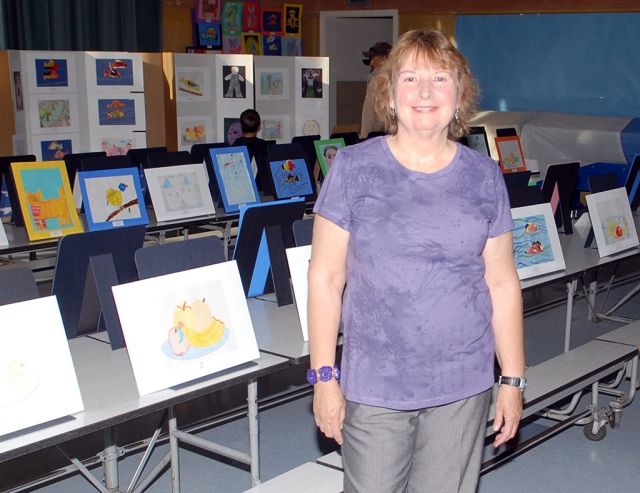 Local artist Virginia Neuman provides art lessons to students, rivaling high school art. It is funded through private foundations.