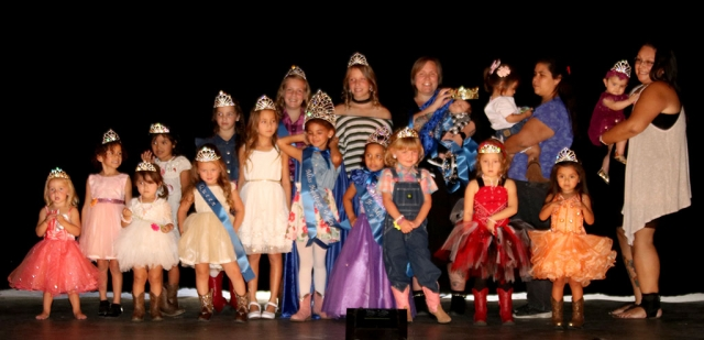 Pictured above are the participants of this year's Miss & Mr. Heritage Valley Pageant. Photos courtesy Crystal Gurrola.