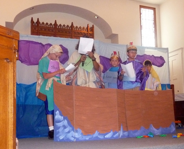 Bardsdale United Methodist Vacation Bible School had a total of 102 registered children ages 2 years to 14.