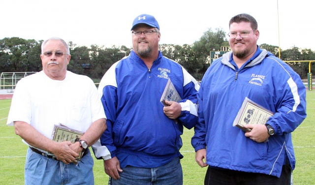 On Saturday, June 6th Dave Wilde, Curtis Garner and Matt Dollar were recognized as 2008 Small Schools Varsity Coach of the Year.