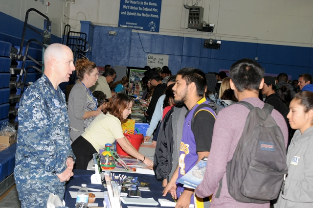 Fillmore High School held its Annual Career Day on Thursday, October 30th.