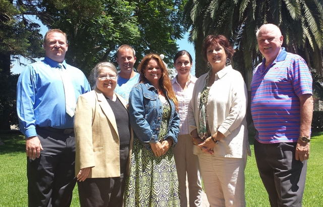 The Fillmore Chamber of Commerce is pleased to announce their Board of Directors for the Heritage Valley Tourism Bureau. Picured from left to right: Rick Neal (Councilmember, City of Fillmore), Maria Christopher (Rancho Camulos), Kevin Keehl President (Piru MX), Cindy Jackson Vice President (CJ Financial), Talia Wunder Executive Director (Best of VC Marketplace), Ventura County Supervisor Kathy Long 3rd District, and Ron
