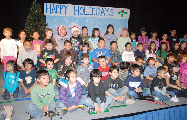 Sespe School held their Christmas program last Thursday. Several classes participated and the program was enjoyed by many.