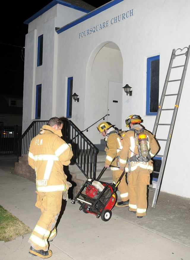 Fillmore Fire Department responded to an incident at the Fillmore Foursquare Church Friday, November 23 at approximately 10:15pm. An overhead light ballast began to smoke, setting off the smoke alarm. No fire was present, no damage to property.