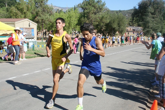 Frank Chavez - JV Boys Runner of the Week. Frank had a break out race at the Ojai Invitational. He will be a key runner this year and we look forward to see what he will do at the future races.