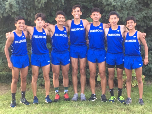 Fillmore High School Boys took second place at the Nike Portland Invitational. Photos courtesy Coach Kim Tafoya.