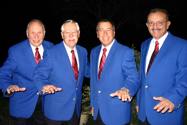 The Fillmore Ebell Club will be entertained this month by Top-Notch, an award winning barbershop quartet, at the Veterans Memorial Building on September 23, 2008.