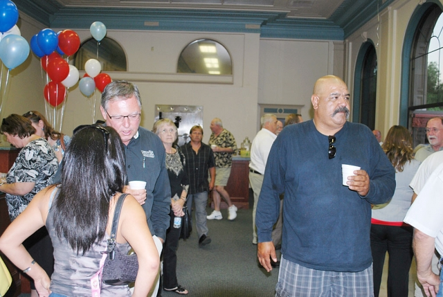 Among the enthusiastic participants in Monday's meet-and-greet (the new candidates) was former, twice failed, city council candidate, Marcos Hernandez. Marcos enjoyed the refreshments as he mixed with the crowd. There were no reports on whether or not he contributed financially to the election fund.