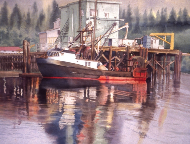 """6 a.m. Coos Bay"" by Phyllis Solcyk"