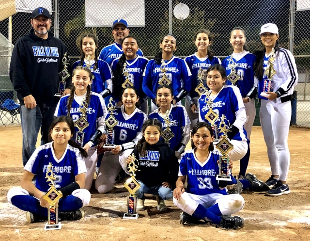 The Fillmore 12U All Star Team that will compete at the District Playoff's on Friday, June 14th at 6 p.m. in Oxnard, which is a California State Qualifier. Photo courtesy Stephanie Cardona.