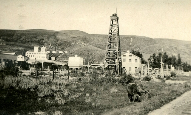 The attached photo is of the refinery in about 1920.