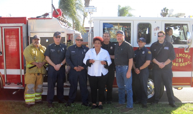 The Fillmore Firefighters Foundation donated $500.00 to the family of Ben Fernandez to help with funeral expenses. Ben was a Fire Department Cadet during his senior year of High School and was well respected by everyone. Ben was part of the Fillmore Fire Department family and will be truly missed.