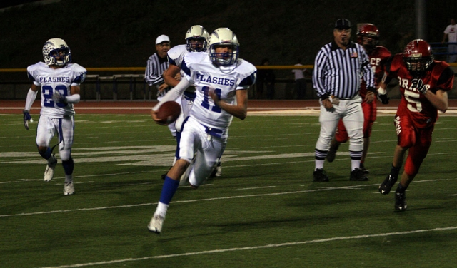 Corey Cole was unstoppable Friday night. Cole rushed for 5 touchdowns and passed for another.