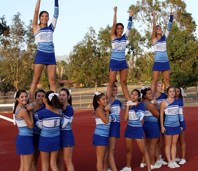 JV Cheerleaders.