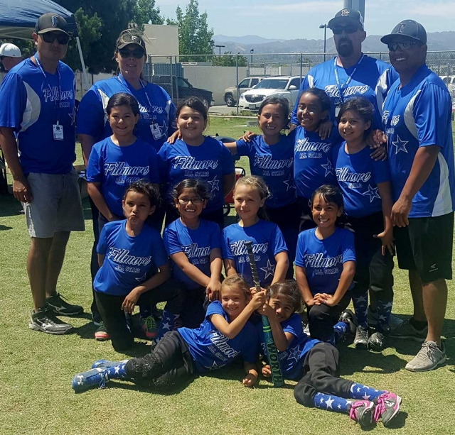 8U Fillmore Softball Girls place top four in El Rio District Tournament, after winning in the June 2016 event. Next they are going to State Championship, July 1-3, 2016.