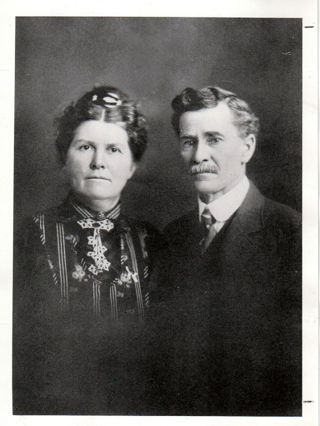 (l-r) Hattie Virginia and her husband George N. King. Photos courtesy Fillmore Historical Museum.