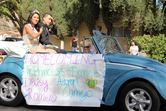 Homecoming Parade.