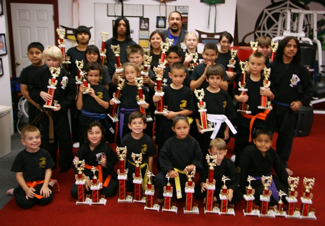 Perce's Kenpo Karate Studio recently held their annual inter-school karate tournament at Fillmore Middle School on October 18. The event was a success for the students as they competed against three other Ventura County studios.