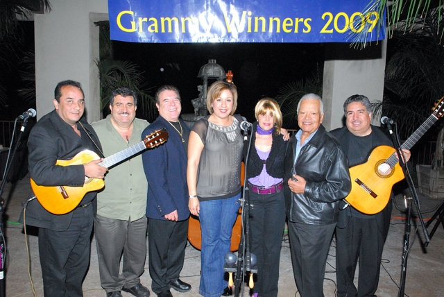 Mariachi Los Camperos celebrated its 2009 Grammy Award with a concert at El Pescador Restaurant, Saturday.