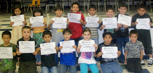 2nd Grade - Fifteen out of 31 second grade students passed the challenge.