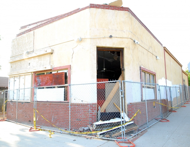 The old Richard's Meat Market will be demolished on Thursday, September 11. As of now