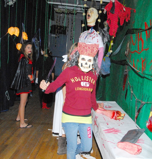 Fillmore Middle School's ASB held their annual Haunted House last Friday. The event was enjoyed by students and parents.