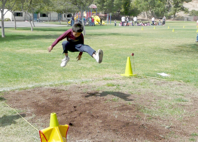 Ivan Zepeda, long jump champ.