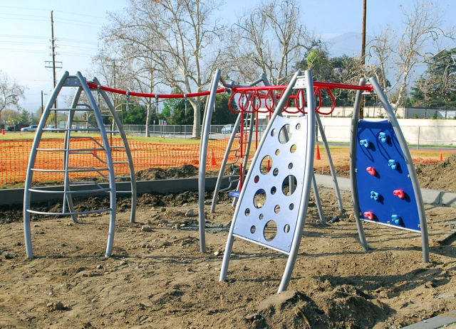 A new playground was put in at Sespe School over the Winter break. What a surprise for the children when they return to school.