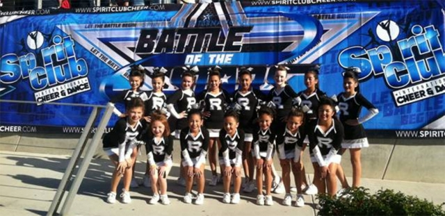 Fillmore's very own youth Raider's cheerleading squads have brought home the victory once again. After leaving Las Vegas as National Champions just two months ago, they have done it again. They just competed at a Spirit Club International Cheerleading Competition in Ontario, where Team White and Team Black came home as champions winning 1st place.  To put the icing on the cake, Team White won Grand Champions, with the highest score overall. (l-r) (top row) Bryanna, Olivia, Ellie, Zoe, Rosie, Jacey, Valeria, Natalie, (bottom row) Angelina, Azaria, Daisy, Addy, Daniella, Alyssa, Hennessy.