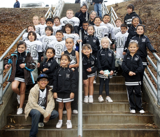 Congratulations to the Fillmore Raiders Mighty Mite Silver Division 1 team who finished with a 10-2 record! This year, they were runner up in the Division 1 Superbowl Championship game, held on November 20, 2010 at Westlake High School. The Division 1 GCYFL (Gold Coast Youth Football League) is a very competitive divison where the Raiders Mighty Mite Silver team went against teams from Santa Clarita, Westlake, Simi Valley and Ventura. In addtion, this team last year had a record of 9-3 and was a finalist for the Division 2 GCYFL (Gold Coast Youth Football League) Championship game. The team would like to thank our Raiderettes, family and fans for all there support this season.