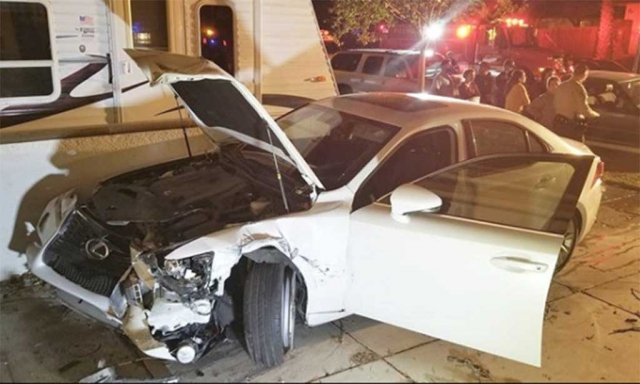 On Friday night, December 8th a Lexus driven by Mariela De Santiago, 31 of Fillmore, side-swiped three cars and struck a parked car before crashing into the corner of a resident garage in the 800 block of River Street. On scene the driver refused to seek medical treatment and was taken by Ventura County Sheriffs for further questioning. She was arrested for Hit and Run Resulting in Property Damage, DUI Alcohol/Drugs, DUI Alcohol W/BAC above .08.