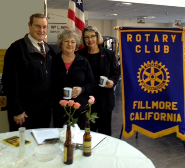 Kyle Wilson, President-Elect, Joanne King And Linda Nunes Joanne and Linda gave a presentation on tips for Tips for entering the Fillmore Flower Show It will be held on April 18-19.