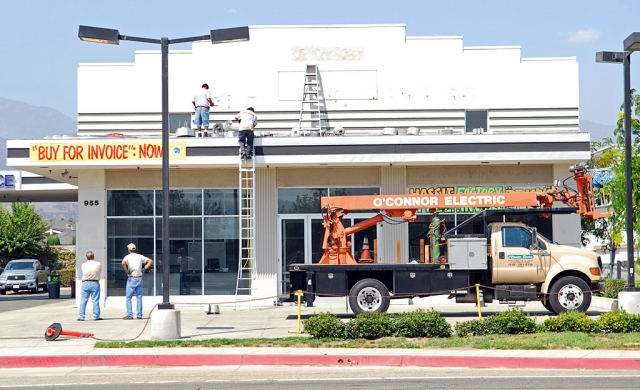 Fillmore has lost its Dodge-Jeep dealership. Last week Schaiers Dodge shipped out its stock of cars and