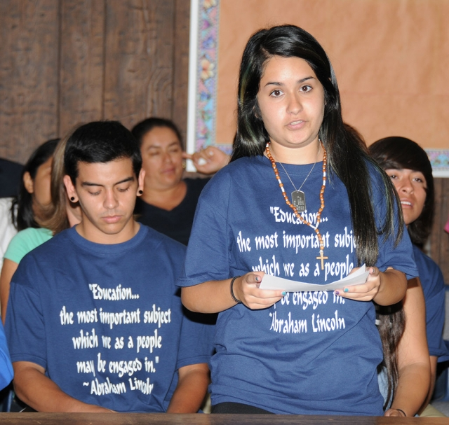 FUTA created these shirts to show their unity and to connect with parents in the community: