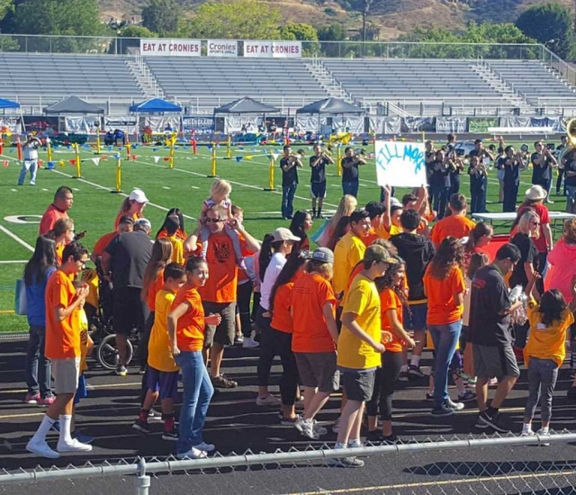 Saturday May 13th the Fillmore Flashes were well represented at Newbury Park High School during the 2017 Special Olympics School Games. FHS had one of the largest groups of students, instructional aides, student aides and teachers at this years event.