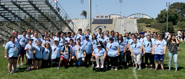 This past weekend FHS students took part in Project Unify where all students are integrated into the culture of the school and participation is open to everyone. FHS had the largest team this year for the Special Olympics, which was held at Camarillo High School. Photos Courtesy Katrionna Furness.