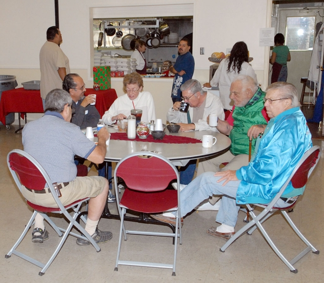 St. Francis of Assisi Catholic Roman Catholic Church serves a popular senior breakfast program, Monday through Friday, 9am to 10am. Approximately 30 meals are served with Tuesday being the busiest day when as