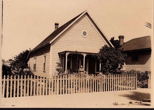 Mahala Stone's house on Central Avenue in Fillmore circa 1910. Photos courtesy Fillmore Historical Museum.