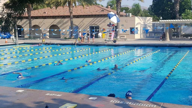 Fillmore High School's swim team is getting ready for the upcoming swim season. They are ahead of the game by training nine months ahead of the season, and looking forward to having an even better season than last year.