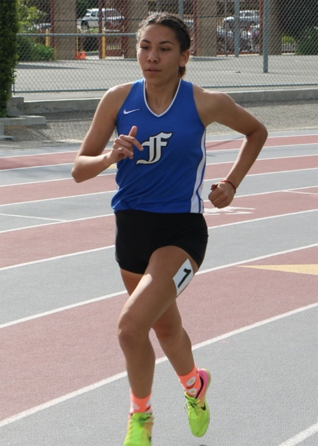 Fillmore High senior Diana Perez advances to the CIF SS Division 4 Finals at El Camino College in the 1600m this weekend. Diana ran a personal best this past Saturday at the CIF SS Division 4 Prelims with a time of 5:10. Way to run, Diana!