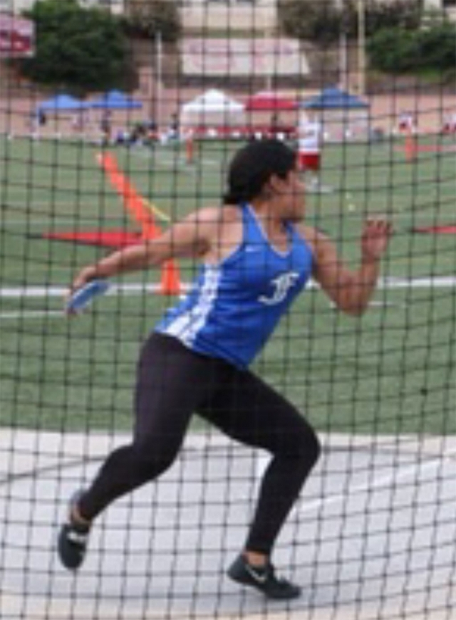 Fillmore High senior Cynthia Hurtado advances to the CIF SS Division 4 Finals at El Camino College in the Discus this weekend. Cynthia is a three time CIF SS Division Prelims qualifier and this year a first time CIF SS Division finalist. We want to wish Cynthia the best. Throw far!