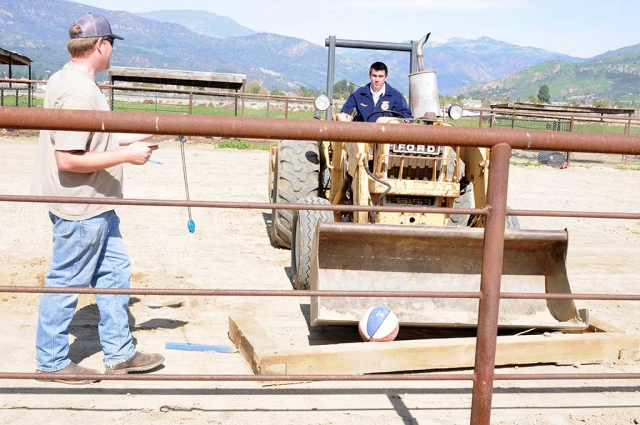 The annual Fillmore Tractor Contest at the School Farm took place Saturday February 25th. Camarillo and Santa Maria schools turned out, but several other Future Farmers of America contestants were unable to attend due to scheduling difficulties.