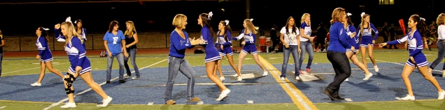 Cheer Mom night