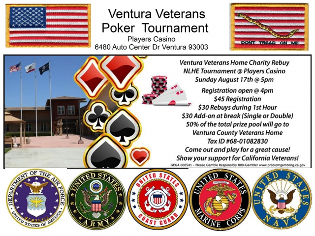Ventura poker tournaments
