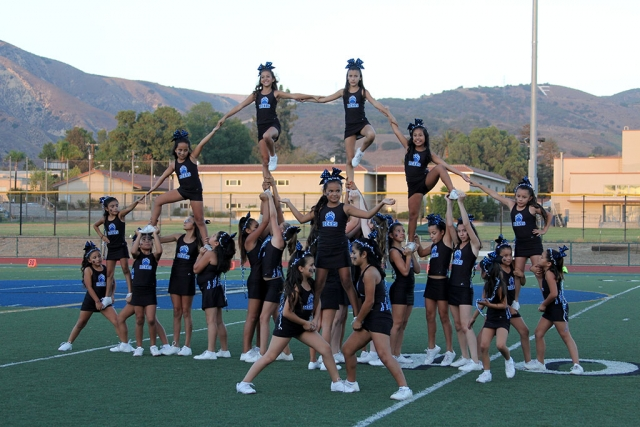 Bears Pee Wee Cheer.
