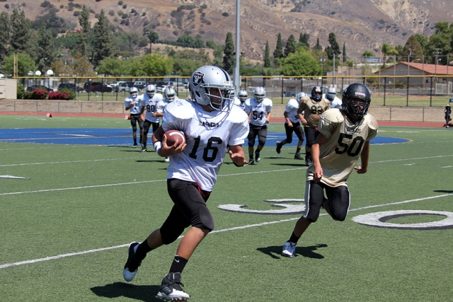 Raiders Junior 2 #16 Maldonado.