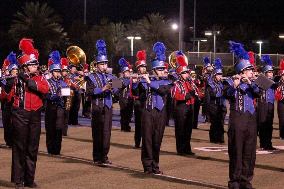 Fillmore and Santa Paula Band Perform together