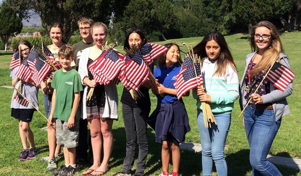 Members of Bardsdale 4H met at Bardsdale Cemetery on Tuesday afternoon to remove the flags honoring Veterans for Memorial Day. Thanks for helping!